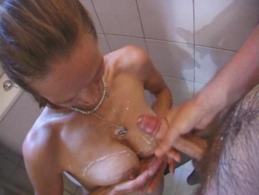 All internal sexy blonde sucks and fucks before creampie 8