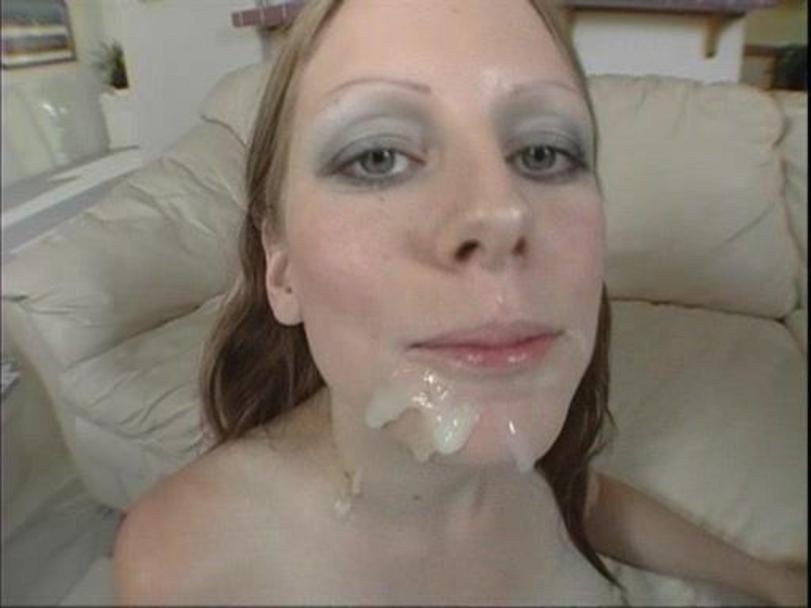 Dildo man strap using video woman