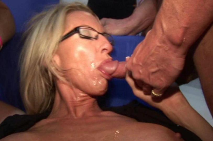 Upclose Facial Cumshots