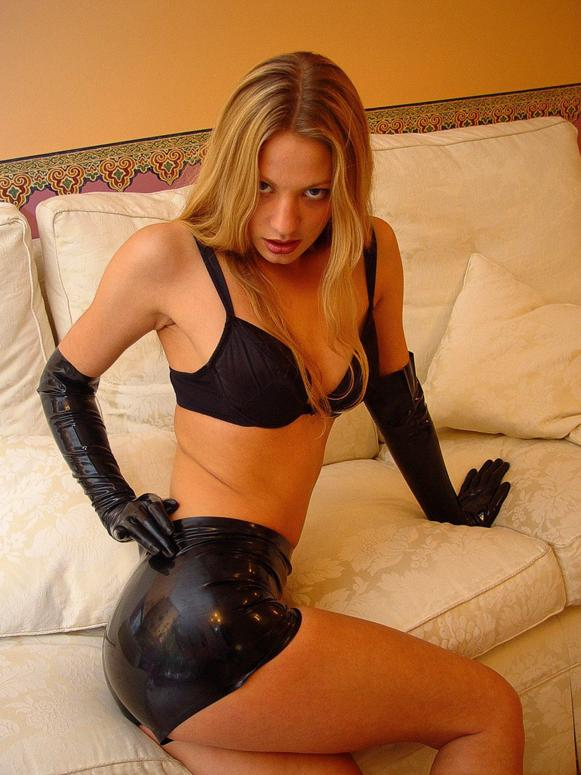 Amateur latex fetish