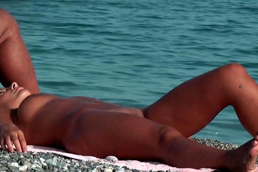 Beach Naked Sexy Woman