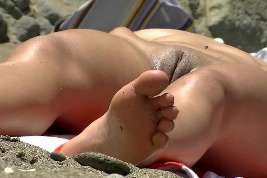 Voyeur Beach Fuck