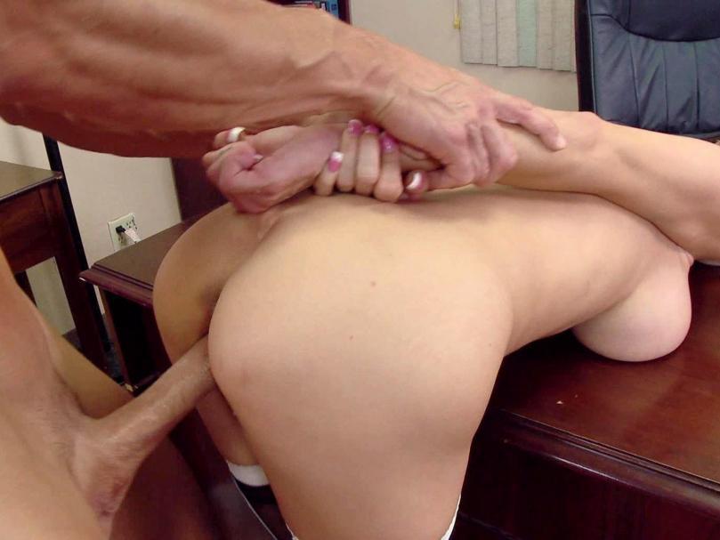 Girl Leg Office