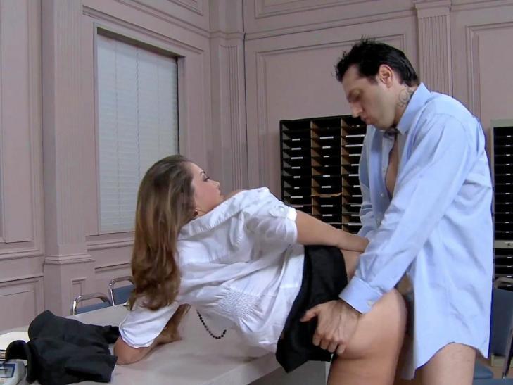 Secretary Stockings Thongs