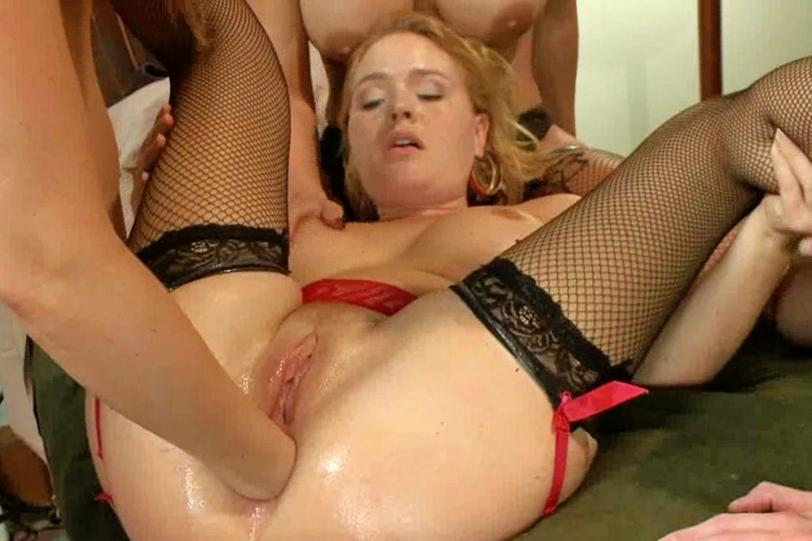 Huge orgy facial line