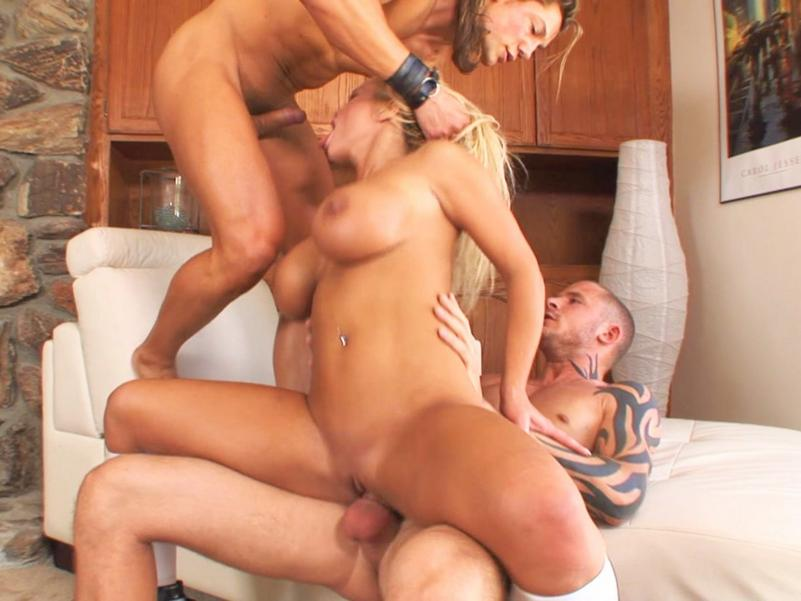 from Trey her first taste of group sex